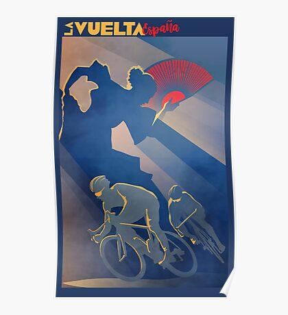 La Vuelta Espana Poster