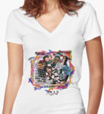 Asap Mob - Yams Day Women's Fitted V-Neck T-Shirt