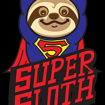 Super Cute Sloth by plushism