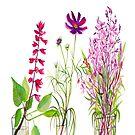 Summer Flowers by marlene veronique holdsworth