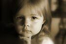 Little Girl Feeling Sad von Evita