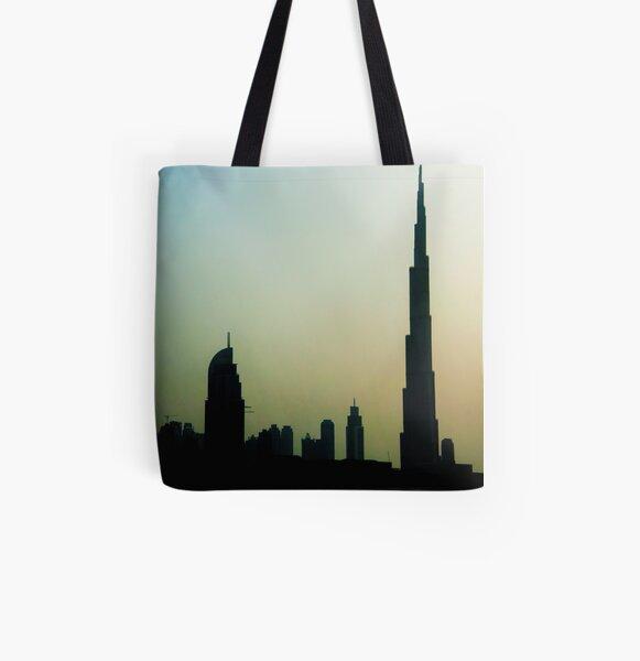 Dubai All Over Print Tote Bag