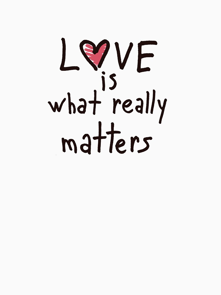 Love is what really matters by syrykh
