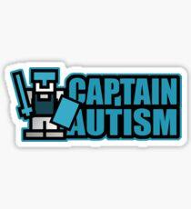 EXCLUSIVE EDITION - Captain Autism Sticker