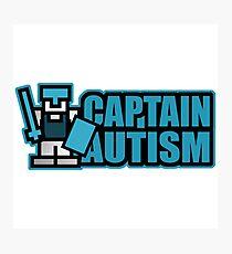 EXCLUSIVE EDITION - Captain Autism Photographic Print