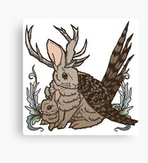 The Wolpertinger Canvas Print