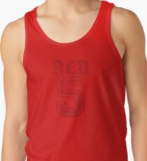 Red 5 Tank Top