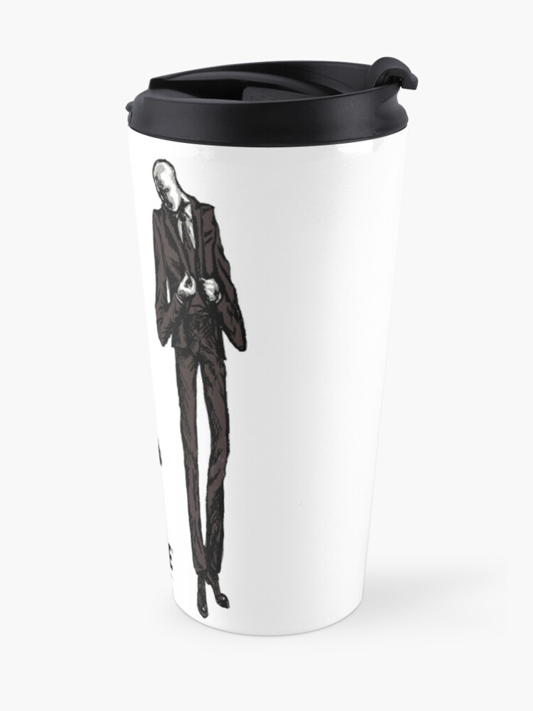 Alternate view of Slenderman Travel Mug