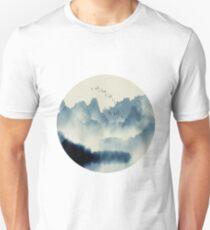 Fog Filled Mountains Unisex T-Shirt