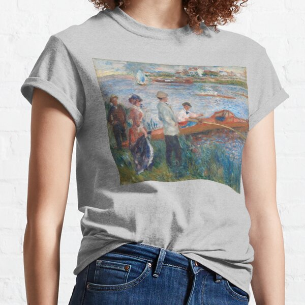 Auguste Renoir Oarsmen at Chatou 1879 Painting Classic T-Shirt