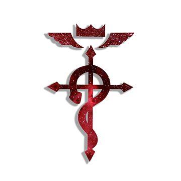 Fullmetal Alchemist Logo by 32BlackRoses