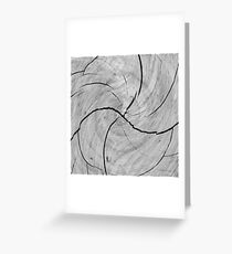Twirled Stump Greeting Card
