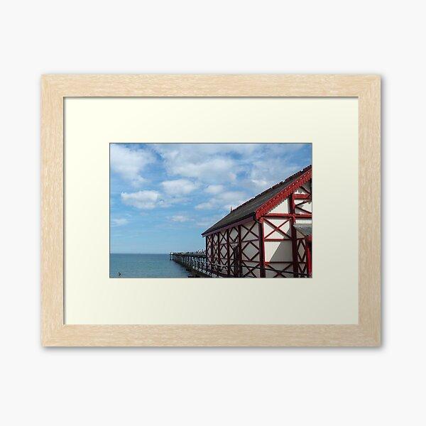 NDVH Saltburn Pier Framed Art Print