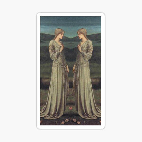 Pre Raphaelite Muse - Edward Burne-Jones - Goddess Sticker