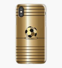 Golden Football Pitch  Cases  iPhone Case