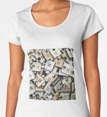 Puzzle Jigsaw Pieces Women's Premium T-Shirt