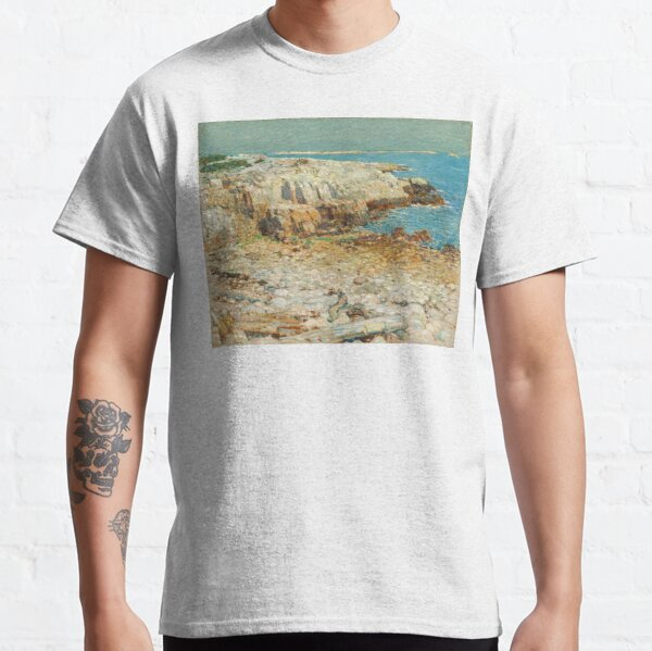 Childe Hassam A North East Headland 1901 Painting Classic T-Shirt