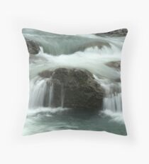 Falls On The Calapooia River Throw Pillow