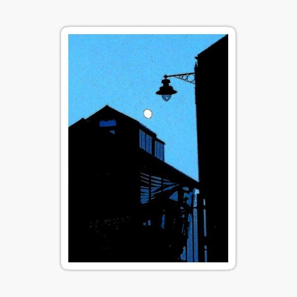 smokehouse blues Sticker