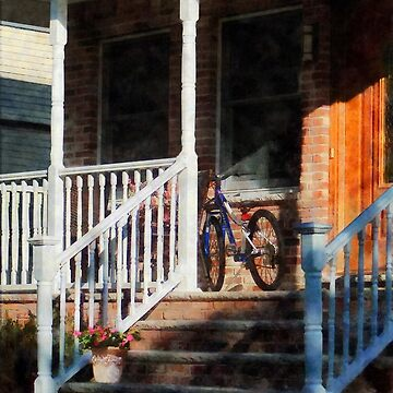 Bicycle on Porch by SudaP0408