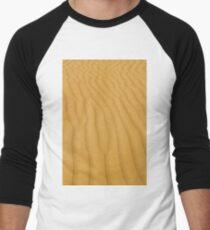gold sand desert background Men's Baseball ¾ T-Shirt