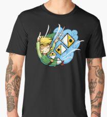 Zelda Wind Waker Wind's Requiem  Men's Premium T-Shirt