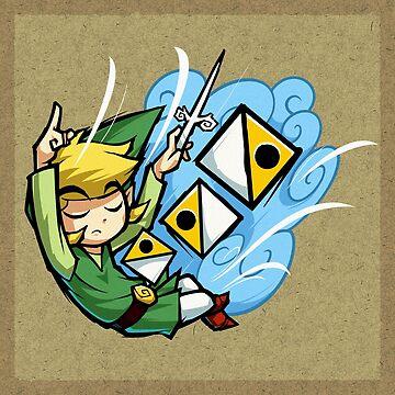 Zelda Wind Waker Wind's Requiem  by Purrdemonium