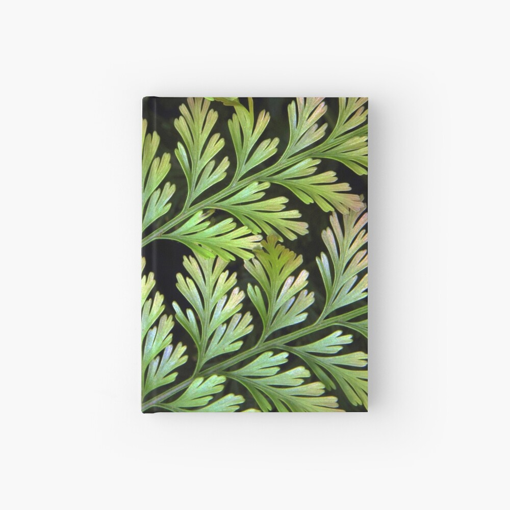 Leaf Abstract Hardcover Journal