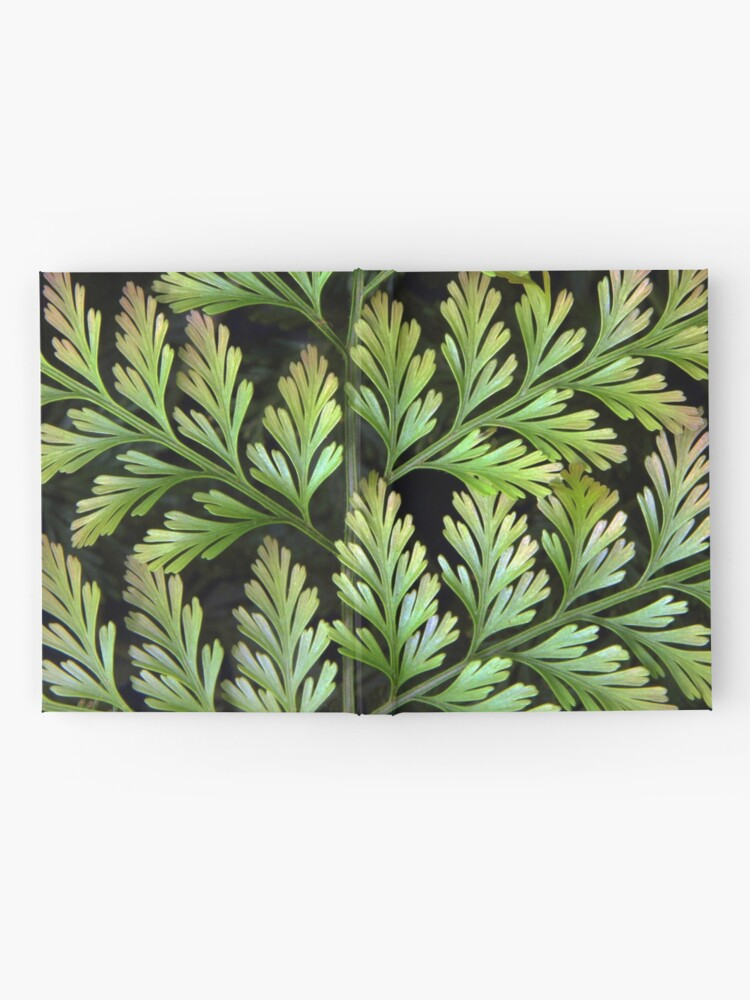 Alternate view of Leaf Abstract Hardcover Journal