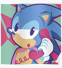 Hello? It is Sonic Poster