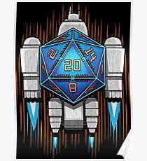 Starship D20 Poster