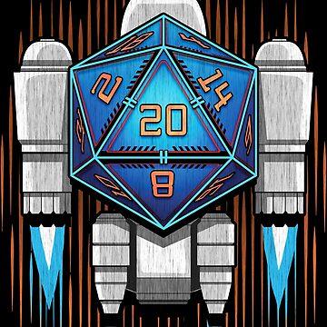 Starship D20 by MaratusFunk