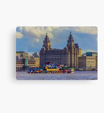 The Dazzling Mersey Ferry Canvas Print