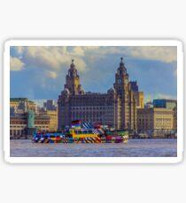 The Dazzling Mersey Ferry Sticker