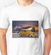 194 Pontiac 8 Sedan 'Tarmac Cruiser' Unisex T-Shirt