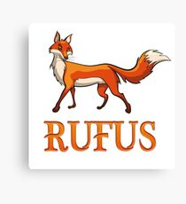 Rufus Fox Canvas Print