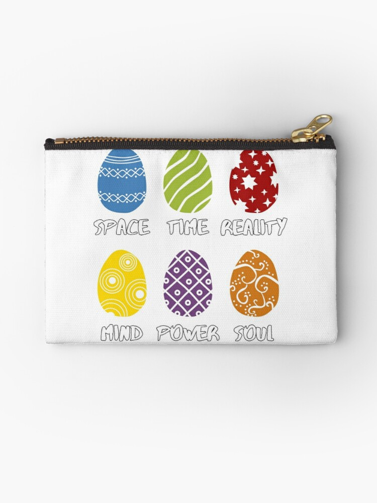 'Funny Cute Infinity Easter Egg Hunt for Easter Day Movies Lover' Zipper  Pouch by geekydesigner
