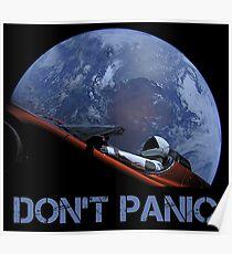 NICHT PANIK Starman Poster