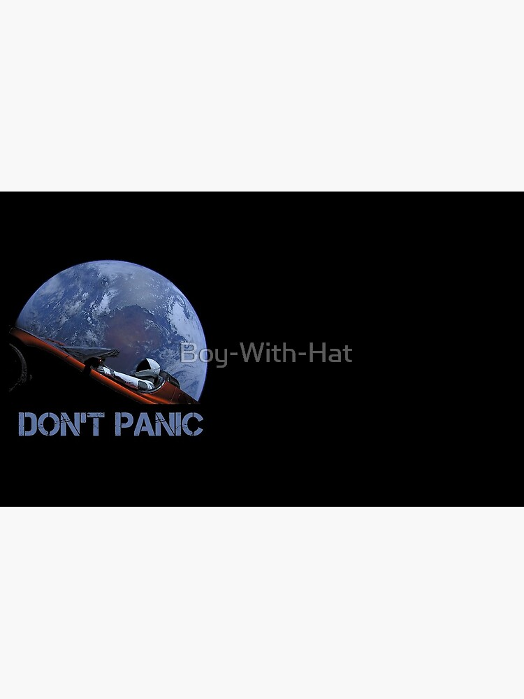 DON'T PANIC Starman by Boy-With-Hat