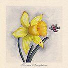 Future Botanical Studies - Daffodil by Timone