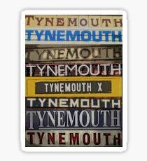 tynemouth Sticker