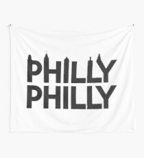 Philly Philly Skyline Wall Tapestry
