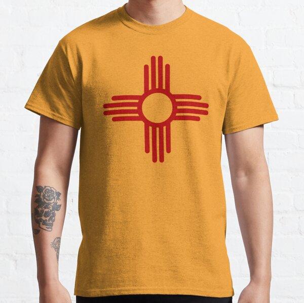 Zia Pueblo Sun Symbol (Red) Classic T-Shirt