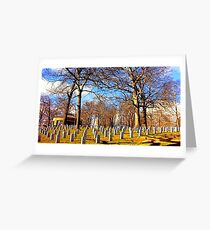WE WILL NEVER FORGET Greeting Card