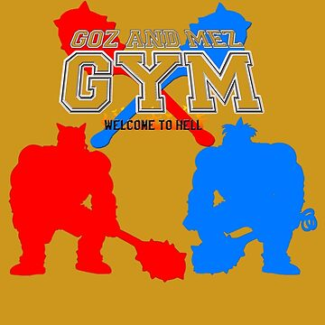 Goz and Mez Gym by RecycleBin