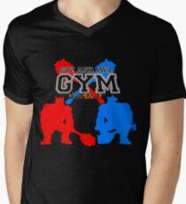 Goz and Mez Gym Mens V-Neck T-Shirt