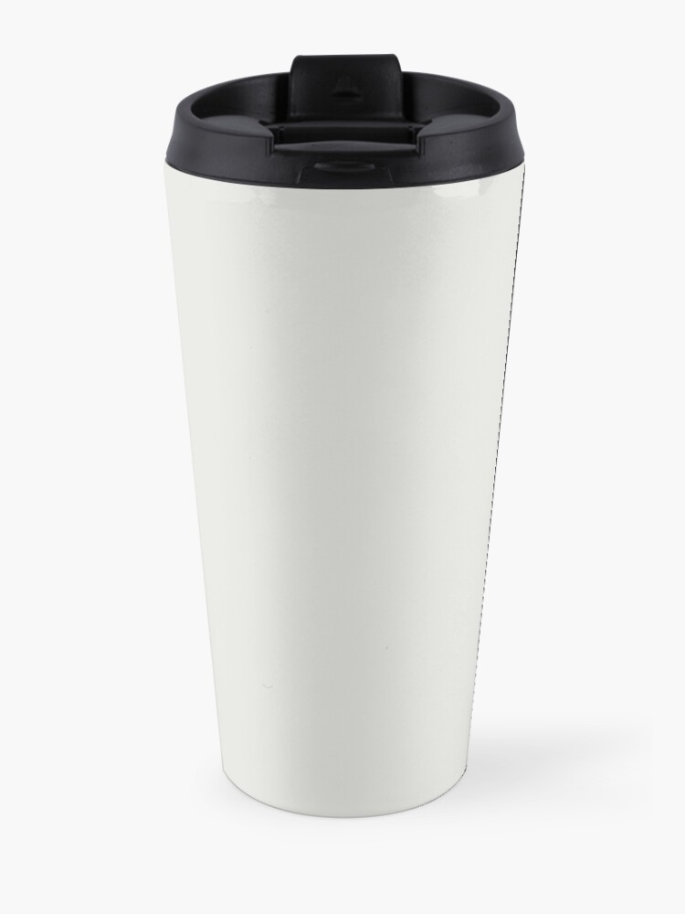 Alternate view of Why yes, you shall obey, FOR I AM CAT! Travel Mug