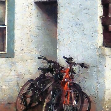 Bicycles in Yard by SudaP0408