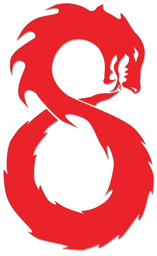 Lucky Number Eight The Chinese Infinity Dragon By Infinitewave
