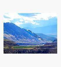 Oasis in the Mountains Photographic Print